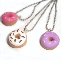Donut Necklaces by AndyGlamasaurus