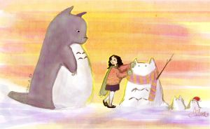 Let's build Snowtotoros by Vilva