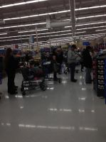 Working on Black Friday at Walmart sucks by Barrier75