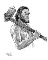 Cro Magnon Man by brentb9702
