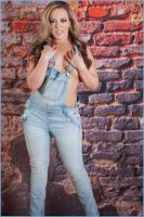 Carmen in blue jeans 11 by DPAdoc