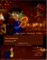 Baldrian Journal skin by DBluver