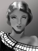 Myrna Loy by Ielle77