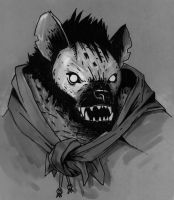 Yark, the gnoll by longeye