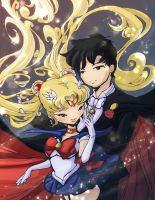 Sailormoon+Tuxedo Mask:Sparkle by the-crazy-spork