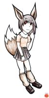 Eevee Girl for Funny-Dust by Prushia