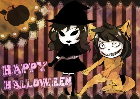 Halloween2013JeffJane by yaguyi