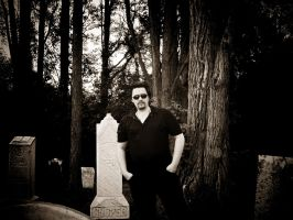 Me at the Evans Rd Cemetery by joseph-sweet