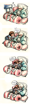 The Pile Of Pillows by Lost-Opium