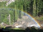 Free Stock Yosemite Rainbow by tursiart