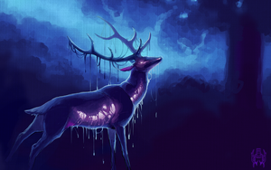 Dead Deer by SorahChan