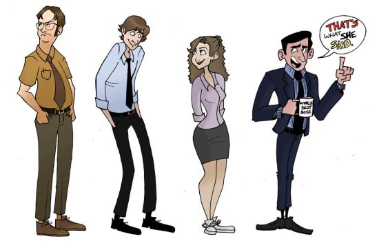 The Office by NKWhite