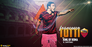 Totti Wallpaper by MohameDesigns