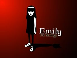 Emily the Strange Desktop by cdrfokker
