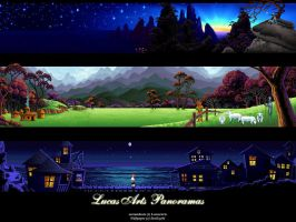 LucasArts Panoramas Wallpaper by beekay84
