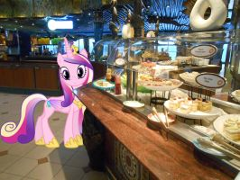 Princess Cadence and the cruise ship buffet by OceanRailroader