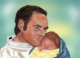 Safe in daddy's arms SGG by sallygilroy