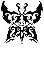 Free RQ : Butterfly tribal by vlindertje235