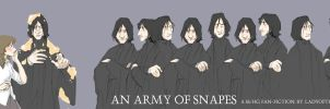 An Army Of Snapes by usagistu