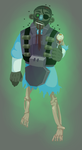 Zombie Fortress 2: Demoman by hectoriwee