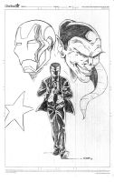 The two faces of Norman Osborn by NJValente