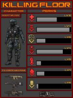 Killing Floor Character Sheet by atagene