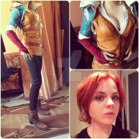 Triss Merigold cosplay by TirithGuard