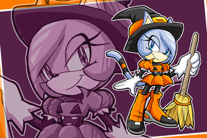 Velocity The Pumpkin Witch by NeedleMouse