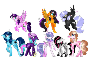 Me And Speedpainters! by ThePegasisterPony