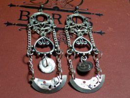 Pendulum Earrings by LeviathanSteamworks
