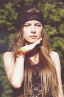 she's the modern hippie IV by elare