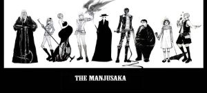 villains - the Manjusaka by witchofwest