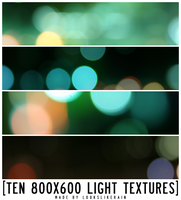 10 large light textures by lookslikerain