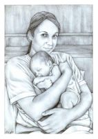Mother and Child by AustenMengler