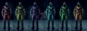 TRON Colour Pack Final by MrJustArkhamGames