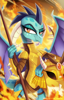 Princess Ember by pepooni