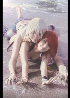Kairi and Riku - Kingdom Hearts II by LauraNikoPhantomhive