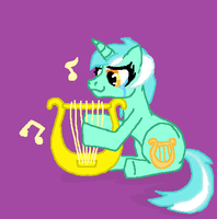 Lyra's Lyre by WILFRE-IS-AWESOME