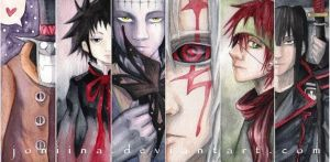 d.gray-man bookmarks by joniina