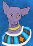 Lord Beerus by Bloodcat101