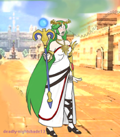 lady palutena burp -commision by Deadly-Nightshade13