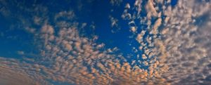 Mackerel sky by alessandrobianco