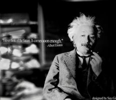 Einstein Quote Wallpaper by TheSayGi