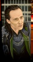 Loki: Movie shelf 2 by GeeFreak