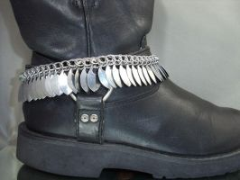 Dragon Scale Chainmail Boot Chain by Pharewings