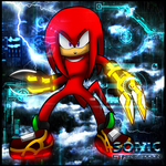 SONIC CYBERGEDDON: Knuckles by Cerberean