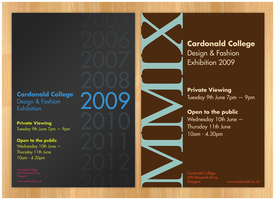 College Exhibition Poster 3+4 by GotGfx