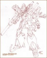 Concept Mobile Suit by zulu-eos