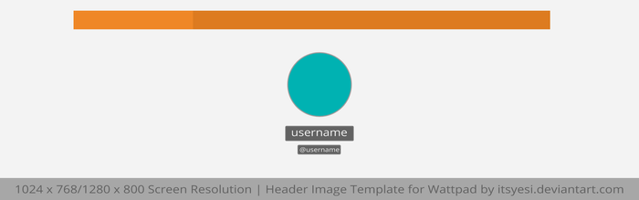 Wattpad Header Template by itsyesi