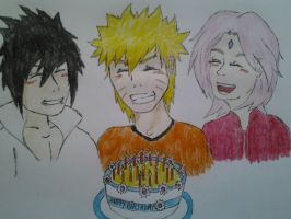 Happy Birthday Naruto by pagesofmylife